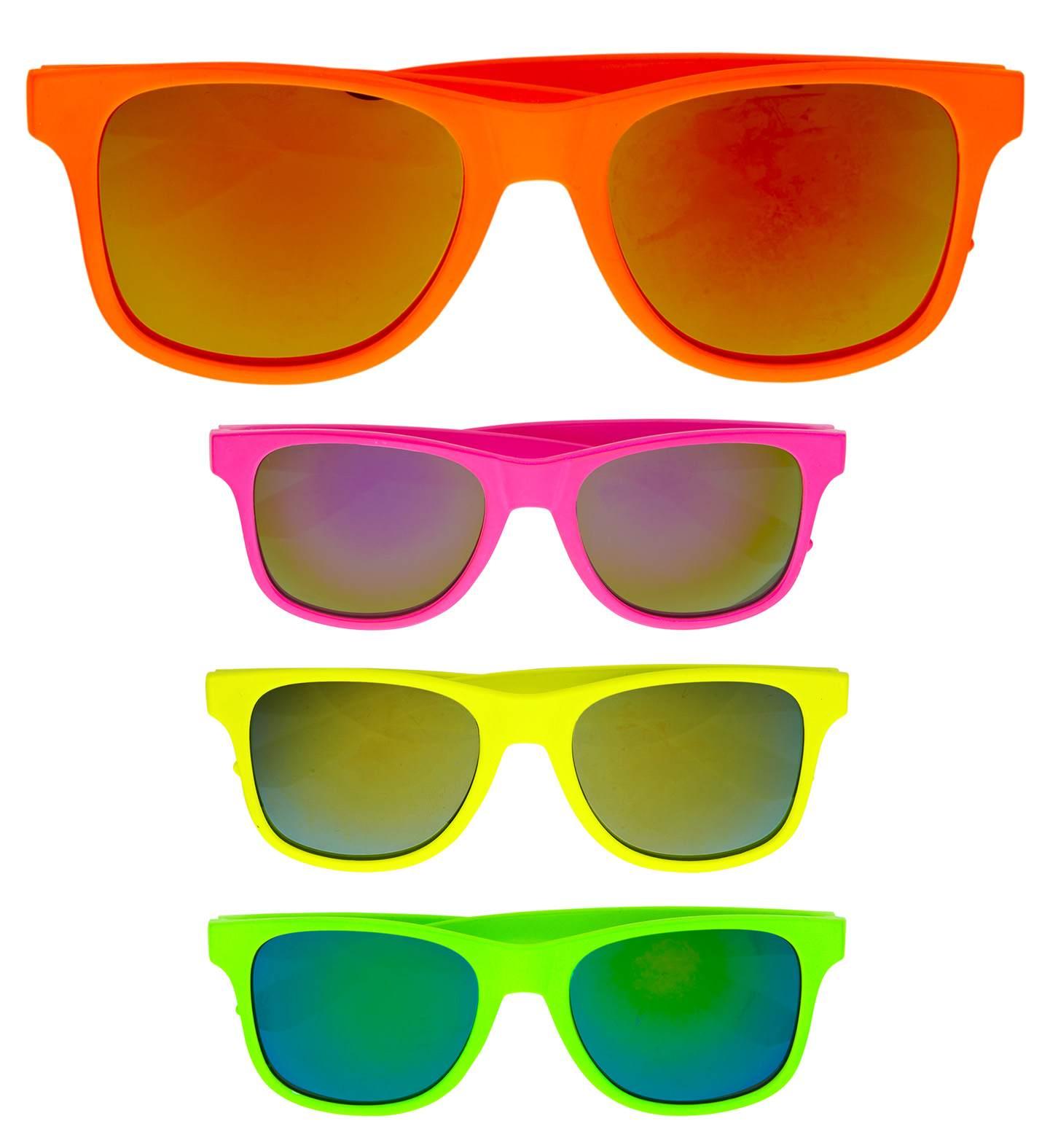 Αποκριάτικα Γυαλιά (Πωλούνται Χωριστά Ανα Χρώμα)