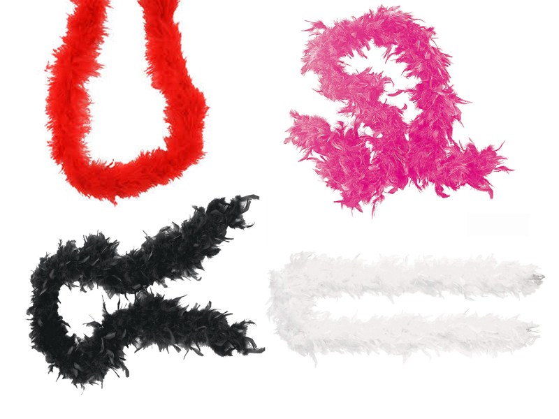 Αποκριάτικα Μπόα (4 Χρώματα) 180cm, Πωλούνται Χωριστά