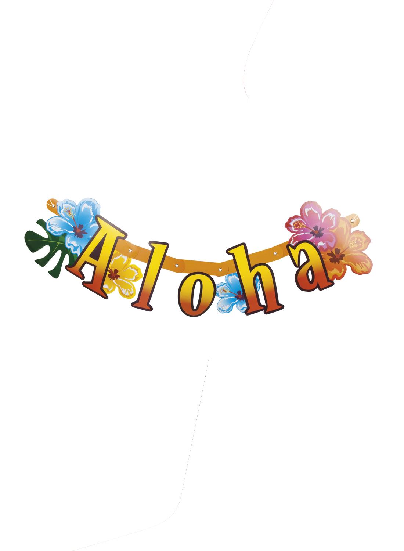 Αποκριάτικη Γιρλάντα Aloha 83cm
