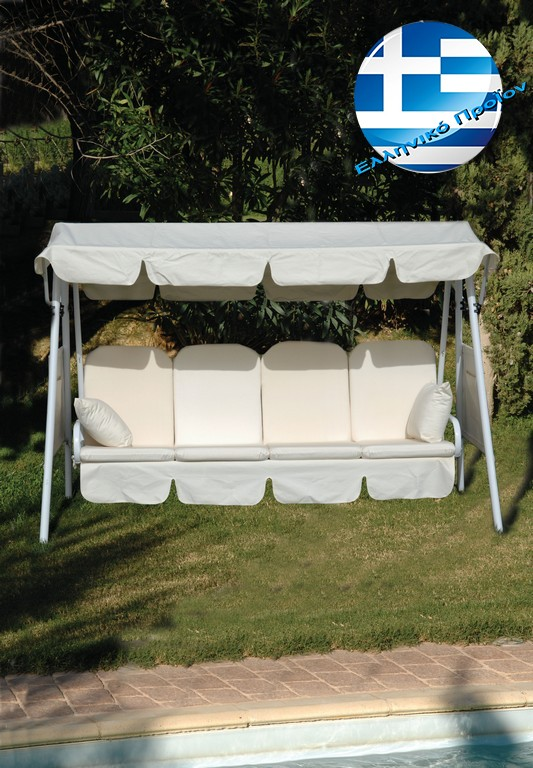 Metal Swing - French Bed 140cm