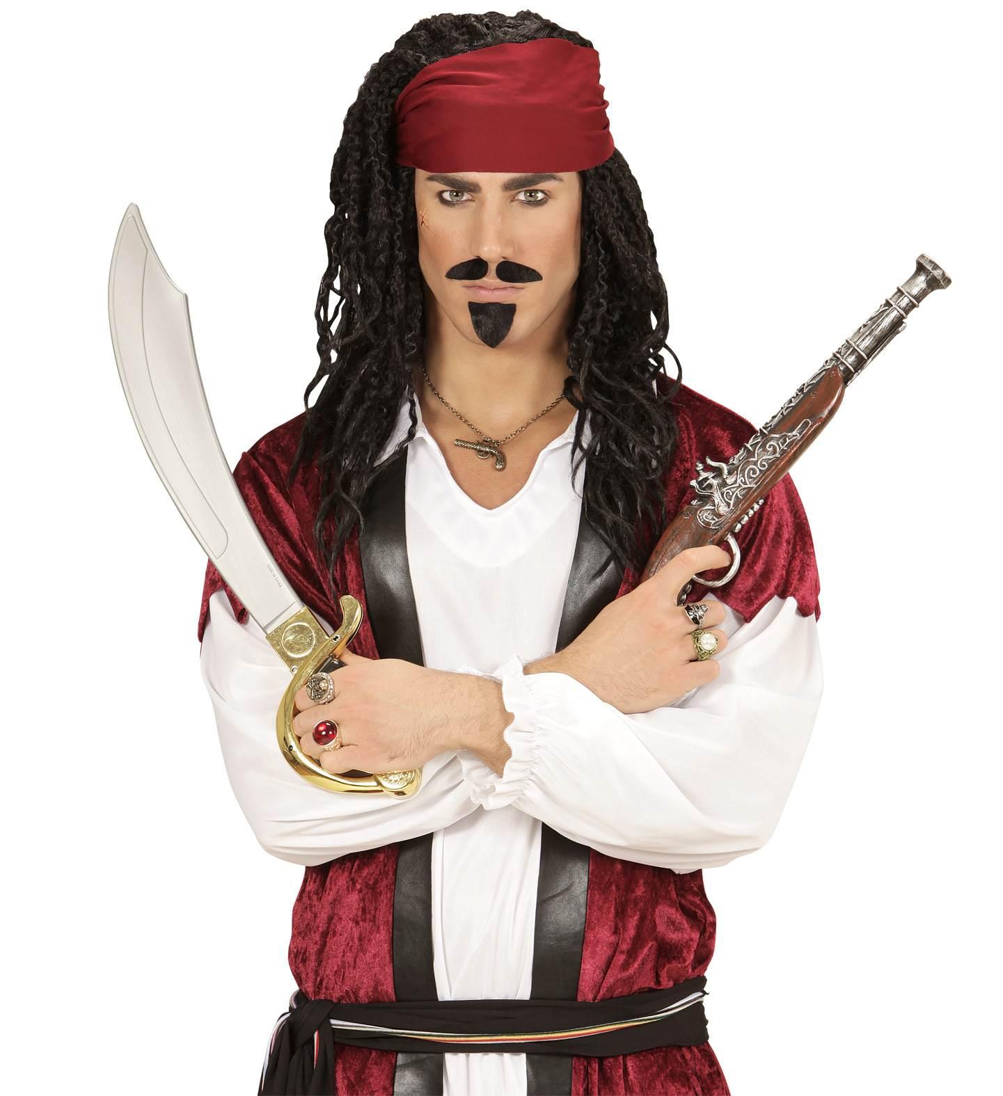 Αποκριάτικο Μενταγιόν Πειρατή Πιστόλι