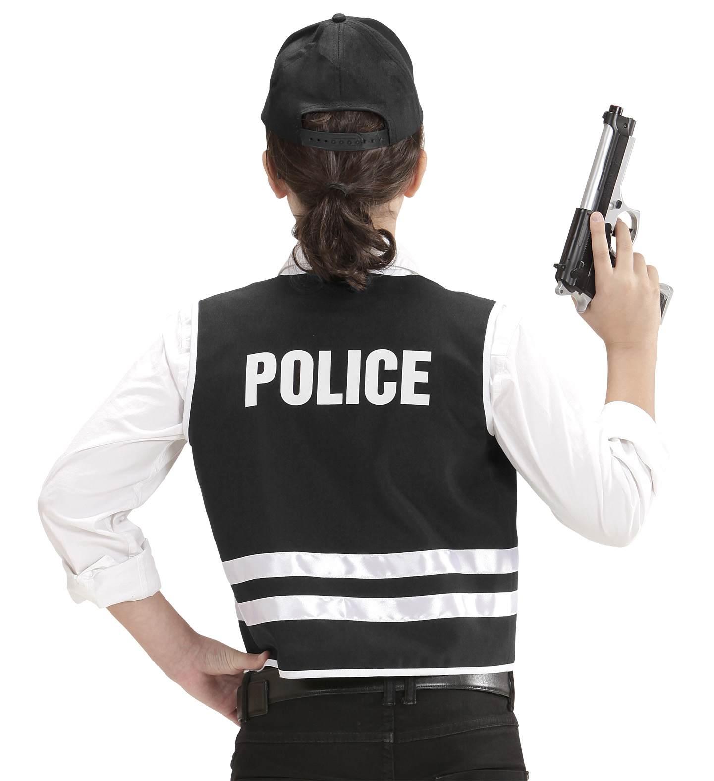 Παιδικό Αποκριάτικο Σέτ Αστυνομικού (Γιλέκο Και Καπέλο)