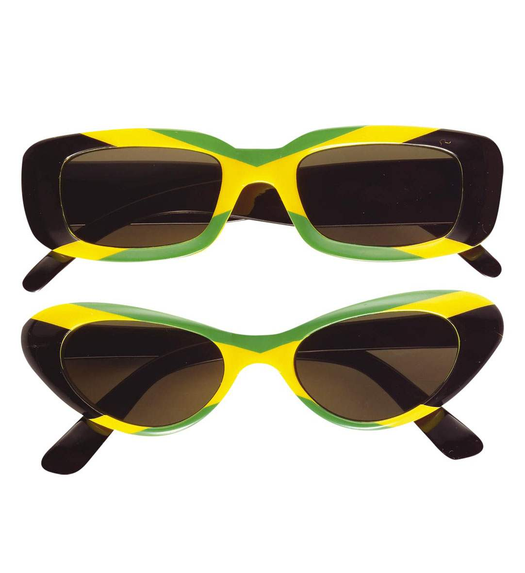 Αποκριάτικα Γυαλιά Τζαμαικανού,2 Σχέδια