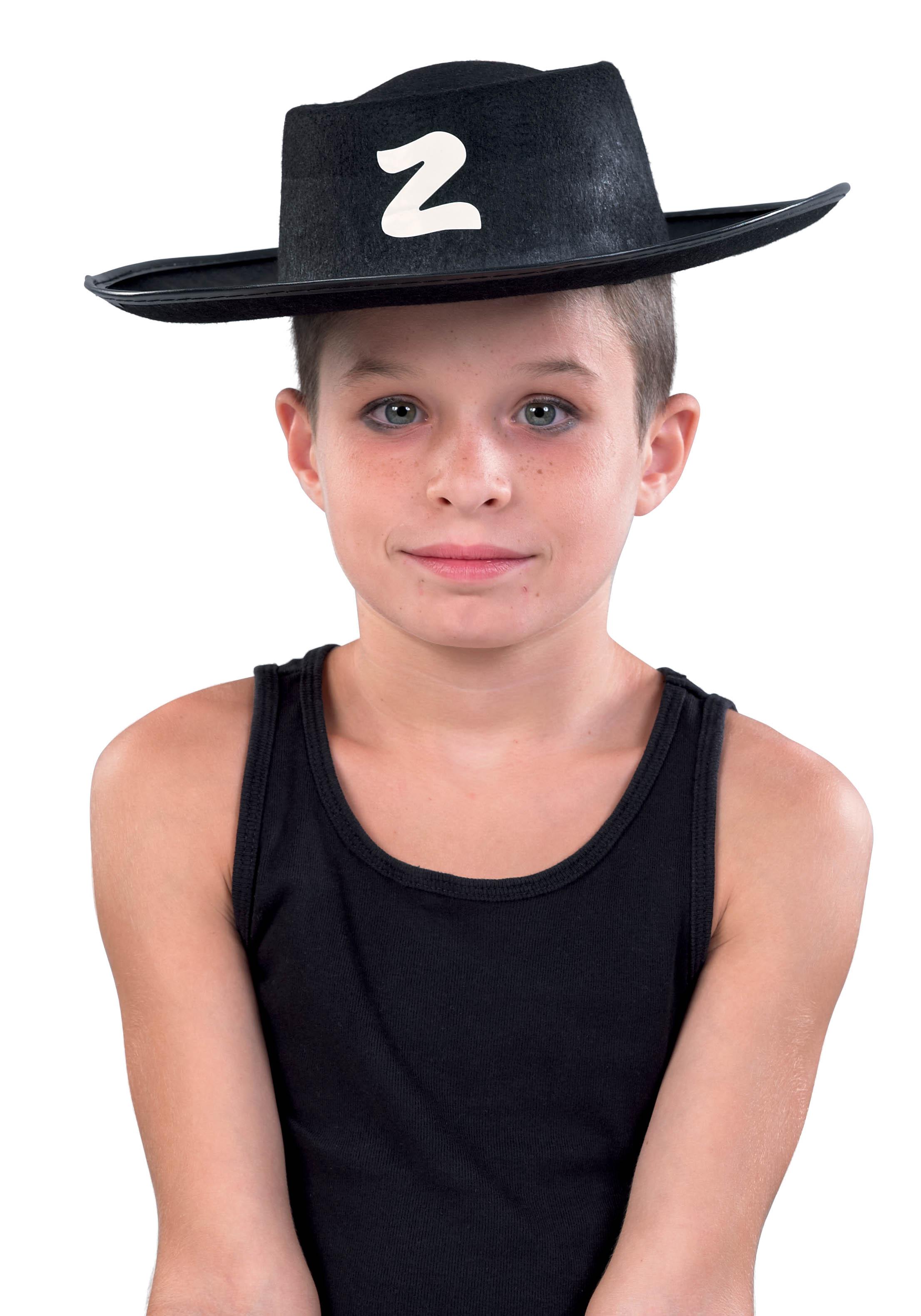 Child's Zorro Hat