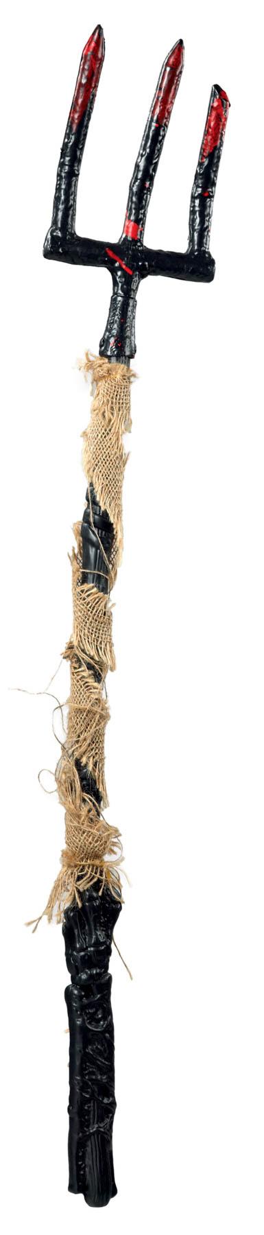 Αποκριάτικη Τρίαινα Με Λινάτσα 110cm