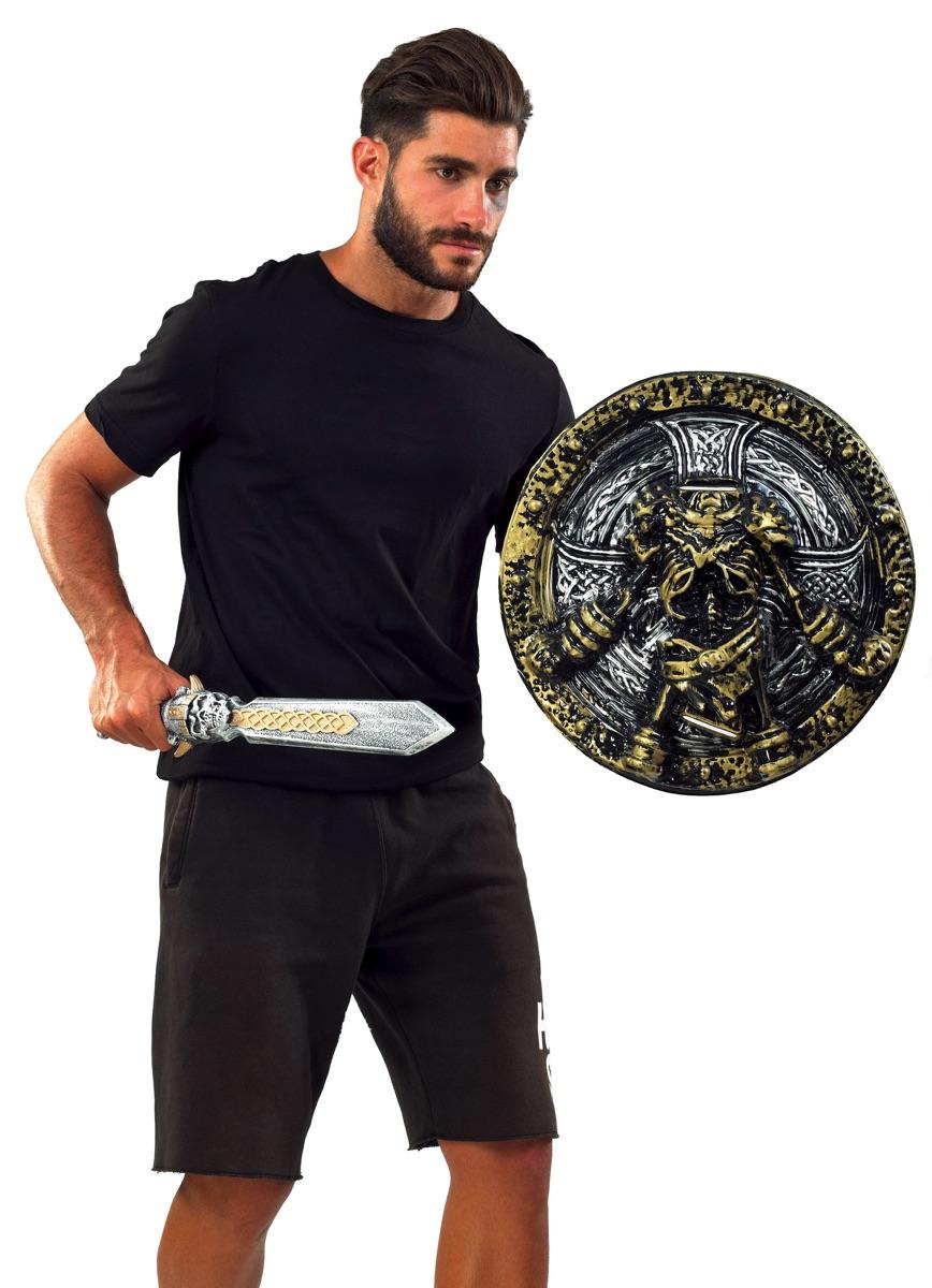 Αποκριάτικο Σέτ Σπαθί Και Ασπίδα 50-58cm