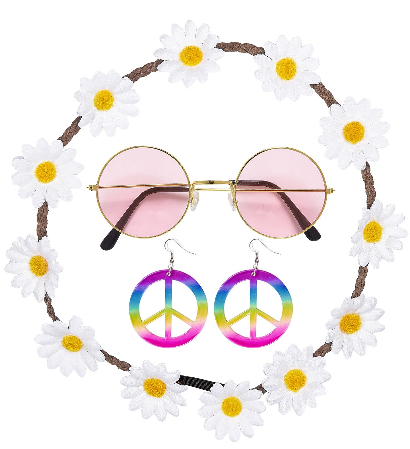 Carnival Chipissas Set (Earrings Glasses,,Headband)