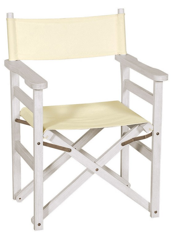 Wondrous Wooden Folding Chair Director Antique White Code Antique Director Chair Garden Furniture Patio Lianos Ncnpc Chair Design For Home Ncnpcorg