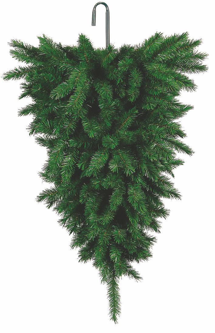 Ανάποδο Κρεμαστό Χριστουγεννιάτικο Δέντρο 210cm