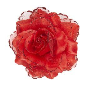 Αποκριάτικο Λουλούδι Με Κλιπσάκι