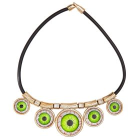 Carnival Necklace With Eyes