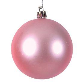 Πλαστική Ματ Χριστουγεννιάτικη Μπάλα 8cm