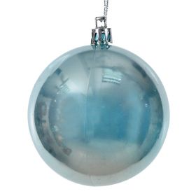 PLASTIC BALL CHRISTMAS 8cm