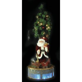 LOUTRINOS SANTA CLAUS WITH MUSIC AND MOVEMENT 115cm