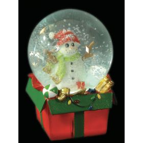 CHRISTMAS snowballs WITH LIGHT 10 x 15 (h) cm