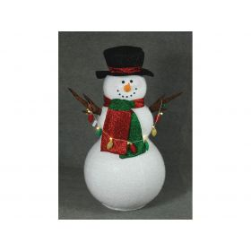 Inflatable Snowman With Music 150cm