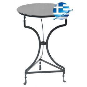 Αγαλβάνιστο Τραπέζι Καφενείου 50 x 72(h)cm
