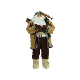 PLUSH TABLE TOP SANTA CLAUS 120cm
