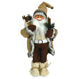 PLUSH FLOOR SANTA CLAUS 45cm