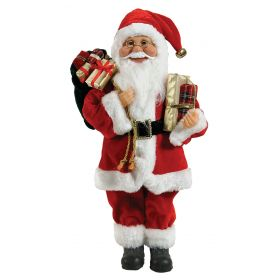 PLUSH FLOOR SANTA CLAUS 30cm