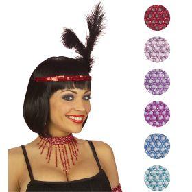 Αποκριάτικο Τσόκερ Λαιμού ,6 Χρώματα ,Πωλούνται Χωριστά