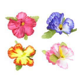 flower CLIP,4 COLORS,sold separately by color