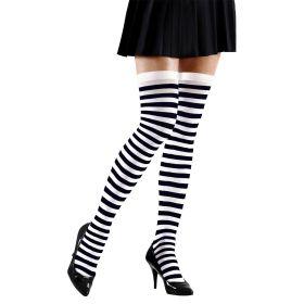 Black and White Christmas Socks