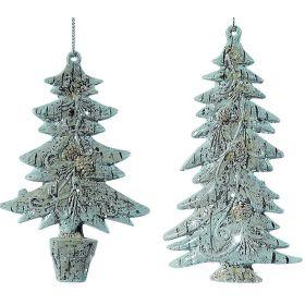 Pvc Κρεμαστό Χριστουγεννιάτικο Δέντρο 12(h)cm