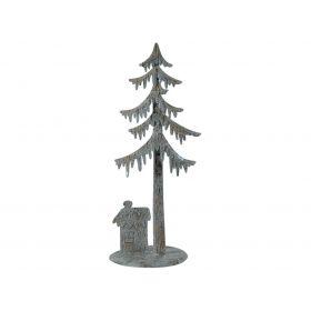 Μεταλλικό Επιτραπέζιο Χριστουγεννιάτικο Δέντρο 41(h)cm