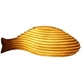 Φωτιζόμενο Διακοσμητικό Ψάρι 34.8x15x11.8(h)cm