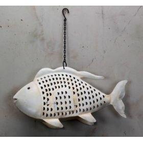 Μεταλλικό Διακοσμητικό Ψάρι 63 x 15 x 36(h)cm