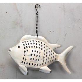 Μεταλλικό Διακοσμητικό Ψάρι 50x11x31(h)cm