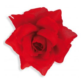 Αποκριάτικο Τριαντάφυλλο Με Κλιπσάκι 10cm
