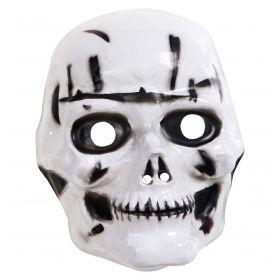Πλαστική Αποκριάτικη Μάσκα Σκελετού
