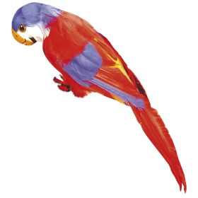 Κόκκινος Αποκριάτικος Παπαγάλος