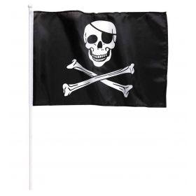 Πειρατική Αποκριάτικη Σημαία 43 x 30 cm
