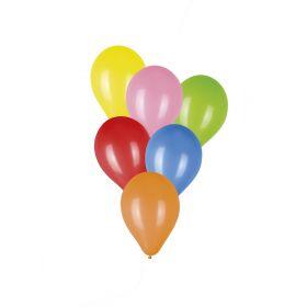 Σέτ 50 Μπαλόνια 6 Χρωμάτων 23cm