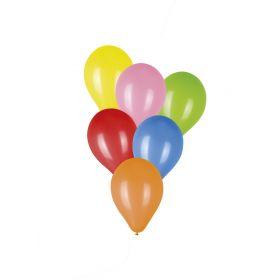 Σέτ 100 Μπαλόνια 6 Χρωμάτων 23cm