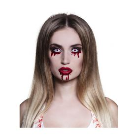 Quarterly Halloween Contact Lenses With Blood
