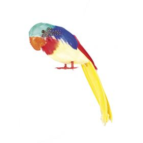 Διακοσμητικός Αποκριάτικος Παπαγάλος 30cm