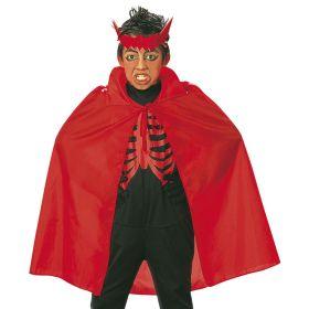 Κόκκινη Παιδική Αποκριάτικη Κάπα 90cm