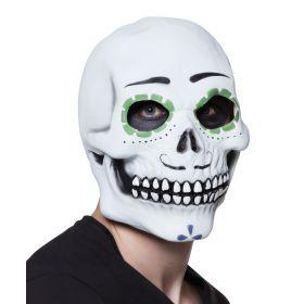 Λάτεξ Αποκριάτικη Μάσκα Νεκροκεφαλή