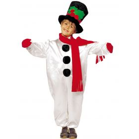 Χριστουγεννιάτικη Στολή Χιονανθρωπάκι