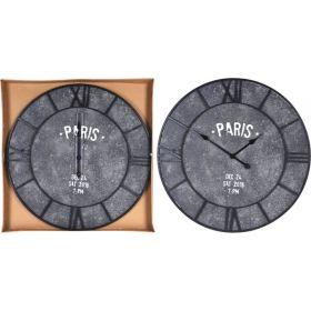 Ξύλινο Διακοσμητικό Ρολόι Τοίχου 75 x 74 x 4 cm