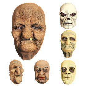 Λάτεξ Αποκριάτικη Μάσκα Προσώπου ,6 Σχέδια ,Πωλούνται Χωριστά
