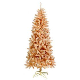 Ρόζ Χριστουγεννιάτικο Δέντρο 210cm