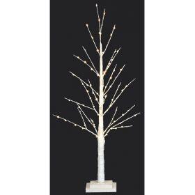 Led Φωτιζόμενο Χριστουγεννιάτικο Δέντρο Με 91Led Και Θερμό Φωτισμό 90(h)cm