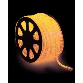 100 Μέτρα Σταθερός Φωτοσωλήνας Με Κίτρινο Φωτισμό ,Ø13mm-3w