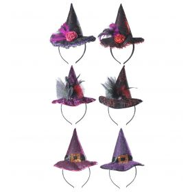 Halloween neat With Witch Hat 6 Drawings