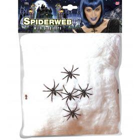 Διακοσμητικός Αποκριάτικος Ιστός Αράχνης